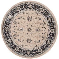 Safavieh Lyndhurst Alec Light Beige / Anthracite 7 ft. x 7 ft. Indoor Round Area Rug