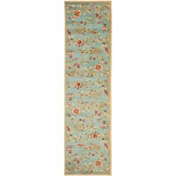 Safavieh Lyndhurst Hugo Blue / Multi 2 ft. 3 inch x 12 ft. Indoor Runner