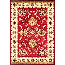 Safavieh Lyndhurst Hoyt Red / Ivory 5 ft. 3 inch x 7 ft. 6 inch Indoor Area Rug