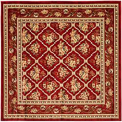 Safavieh Lyndhurst Derrick Red 6 ft. 7 inch x 6 ft. 7 inch Indoor Square Area Rug