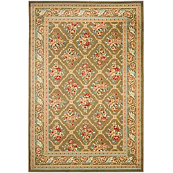 Safavieh Lyndhurst Derrick Green 5 ft. 3 inch x 7 ft. 6 inch Indoor Area Rug