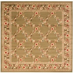 Safavieh Lyndhurst Lori Green 6 ft. 7 inch x 6 ft. 7 inch Indoor Square Area Rug