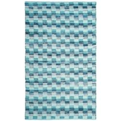 Safavieh Montauk Napier Turquoise / Multi 5 ft. x 8 ft. Indoor Area Rug