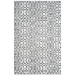 Safavieh Montauk Corrine Ivory / Blue 6 ft. x 9 ft. Indoor Area Rug
