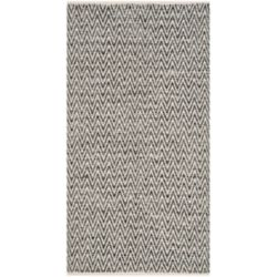 Safavieh Montauk Clint Ivory / Dark Grey 2 ft. 3 inch x 3 ft. 9 inch Indoor Area Rug