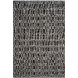 Safavieh Montauk Peyton Ivory / Dark Grey 4 ft. x 6 ft. Indoor Area Rug