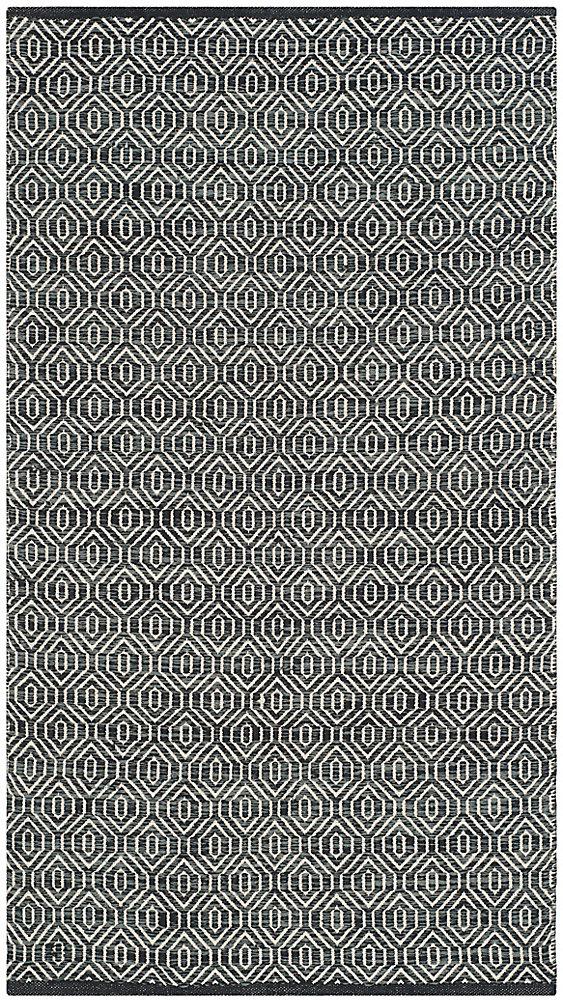 Montauk Cid Ivory / Dark Grey 2 ft. 3 inch x 3 ft. 9 inch Indoor Area Rug