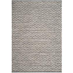 Safavieh Montauk Mario Ivory / Dark Grey 6 ft. x 9 ft. Indoor Area Rug