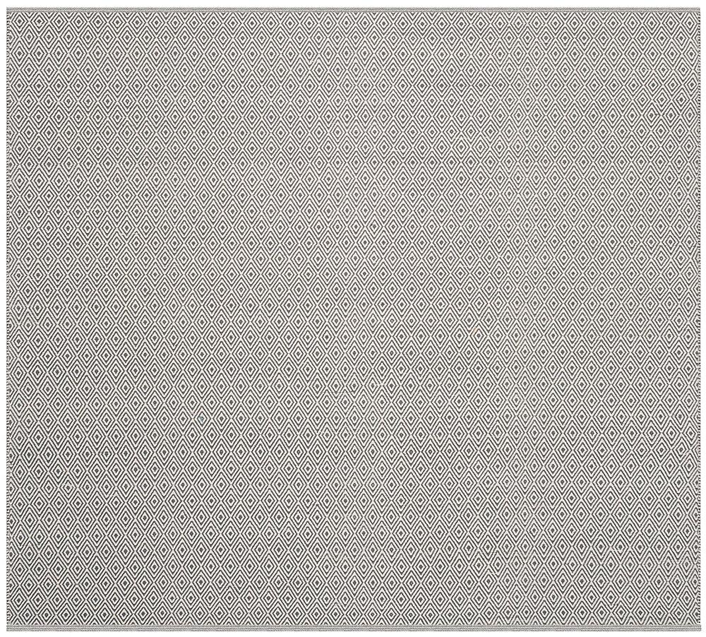 Montauk Rachel Ivory / Grey 6 ft. x 6 ft. Indoor Square Area Rug