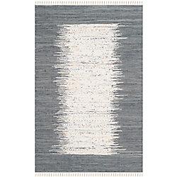 Safavieh Montauk Delroy Ivory / Grey 4 ft. x 6 ft. Indoor Area Rug