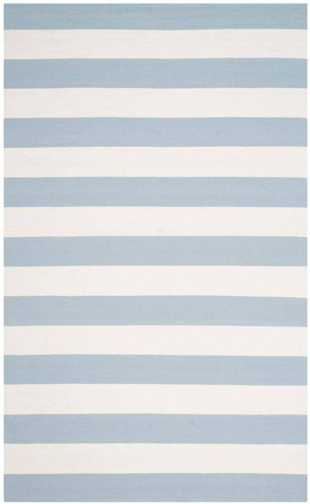 Safavieh Montauk Keith Sky Blue / Ivory 8 ft. x 10 ft. Indoor Area Rug