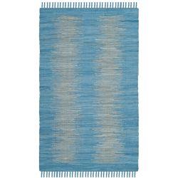 Safavieh Montauk Kim Light Blue 2 ft. 6 inch x 4 ft. Indoor Area Rug
