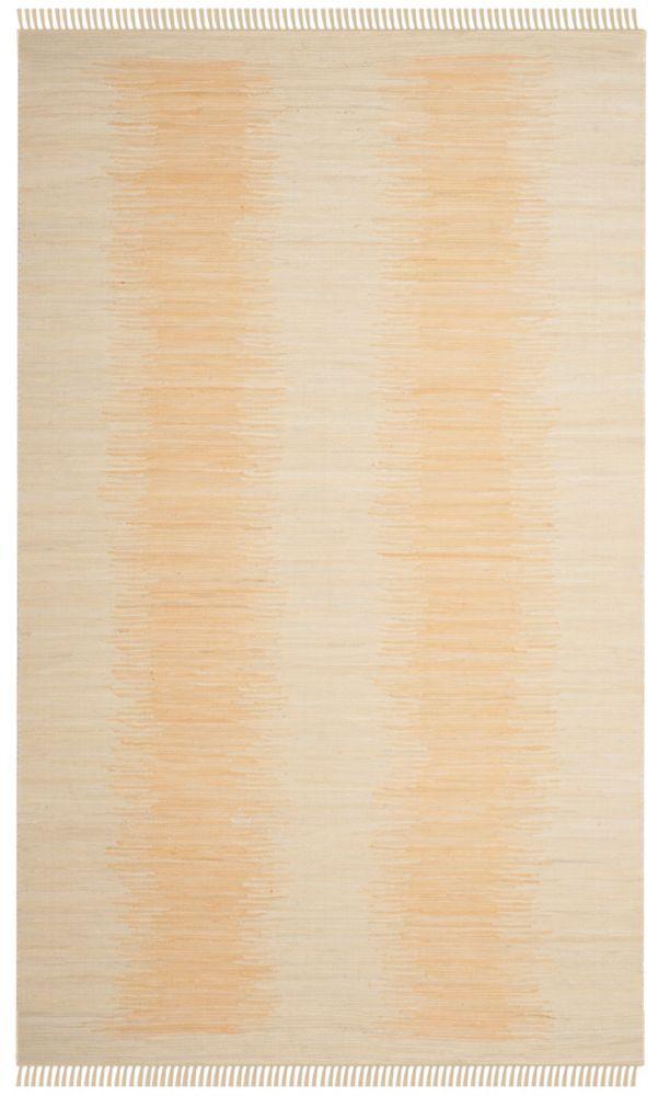 Safavieh Montauk Kim Ivory 5 ft. x 8 ft. Indoor Area Rug