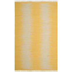 Safavieh Montauk Kim Gold 5 ft. x 8 ft. Indoor Area Rug