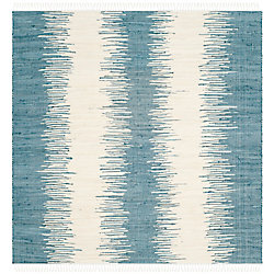 Safavieh Montauk Nelson Blue 4 ft. x 4 ft. Indoor Square Area Rug