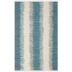 Safavieh Montauk Nelson Blue 5 ft. x 8 ft. Indoor Area Rug