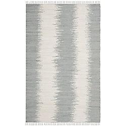 Safavieh Montauk Nelson Grey 4 ft. x 6 ft. Indoor Area Rug