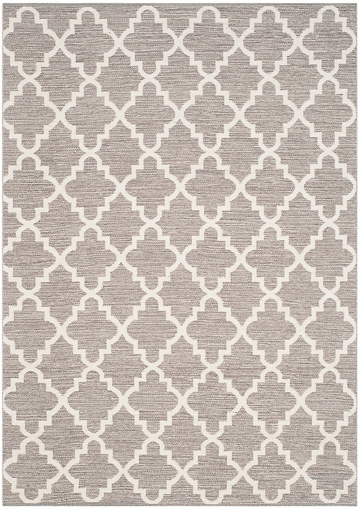 Montauk Cecilia Grey / Ivory 6 ft. x 9 ft. Indoor Area Rug