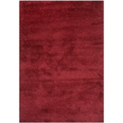 Safavieh Tapis d'intérieur, 8 pi x 10 pi, California Shag Felicia, maroon