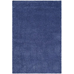 Safavieh Shag Felicia Periwinkle 5 ft. 3-inch x 7 ft. 6-inch Indoor Area Rug