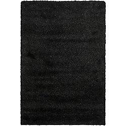 Safavieh Shag Felicia Black 8 ft. x 10 ft. Indoor Area Rug