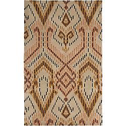 Safavieh Wyndham Collin Brown / Ivory 5 ft. x 8 ft. Indoor Area Rug