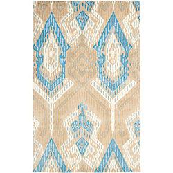 Safavieh Wyndham Collin Blue / Ivory 5 ft. x 8 ft. Indoor Area Rug