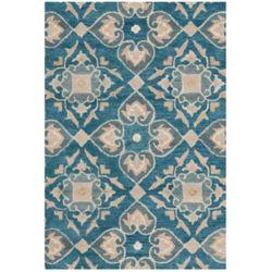 Safavieh Wyndham Chad Blue / Grey 2 ft. 6 inch x 4 ft. Indoor Area Rug