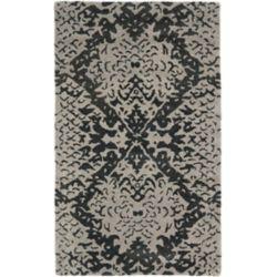 Safavieh Wyndham Ellen Grey / Black 2 ft. 6 inch x 4 ft. Indoor Area Rug