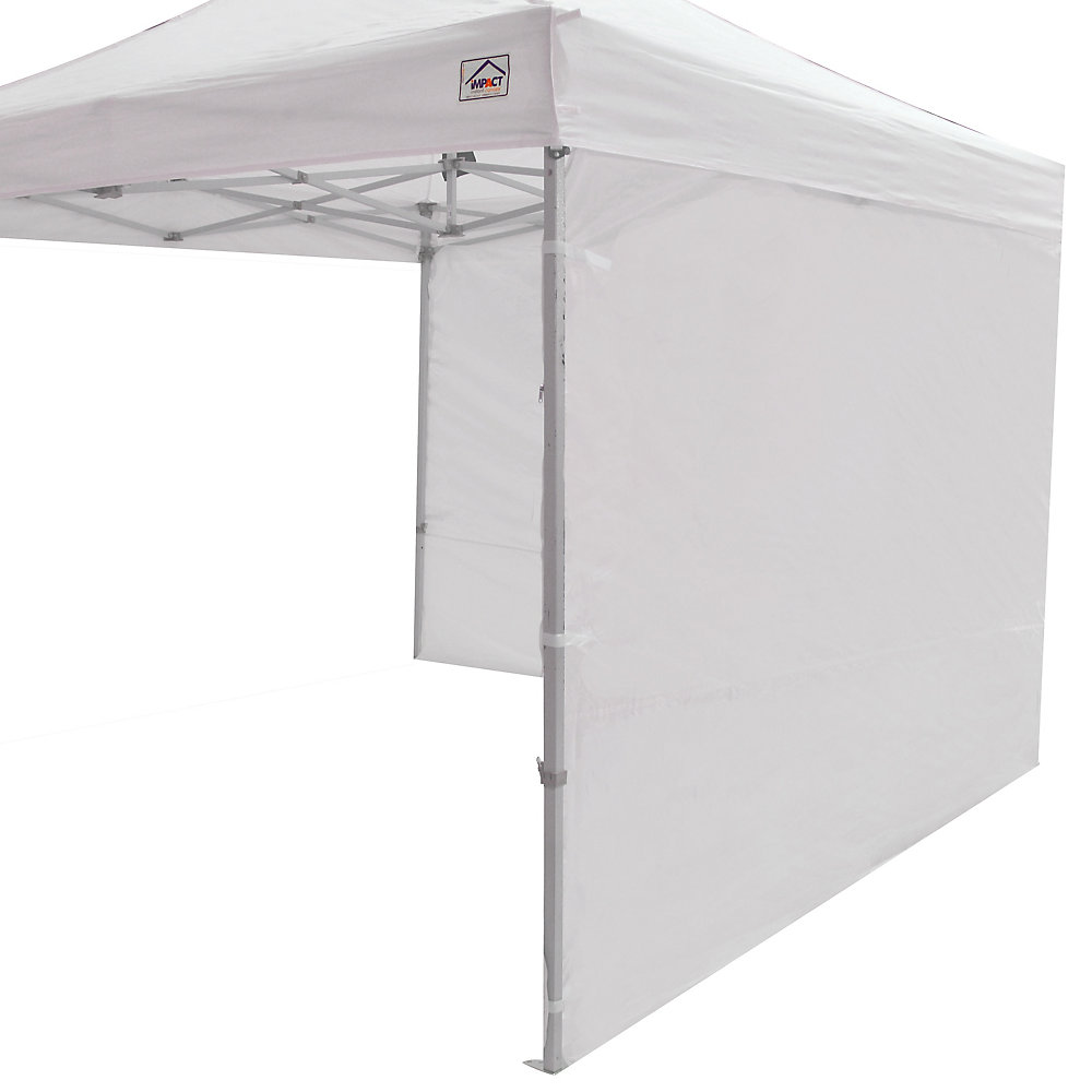 Sidewall Accessory Kit in White for 10 ft  x 10 ft  Instant Pop Up Canopy  (2-Pack)