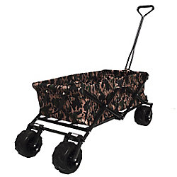 Impact Canopy All Terrain Folding Beach/Sport Wagon in Camouflage