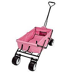 All Terrain Folding Beach/Sport Wagon in Pink