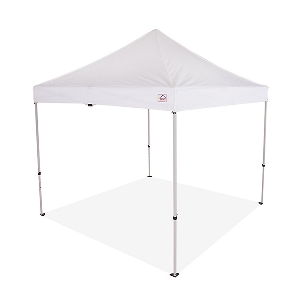 7baaf00cd3 Impact Canopy 10 ft. x 10 ft. Steel Commercial Grade Pop Up Canopy ...