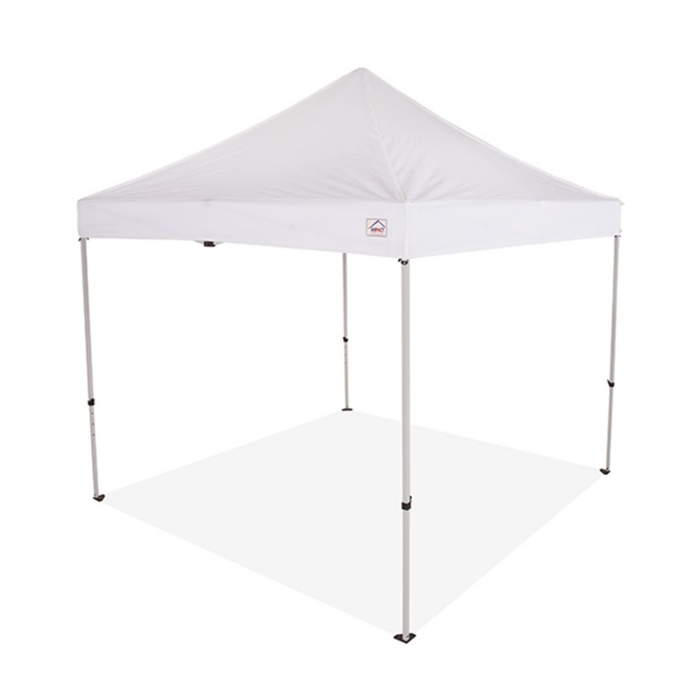 Impact Canopy 10 ft. x 10 ft. Steel Commercial Grade Pop Up Canopy Event Canopy