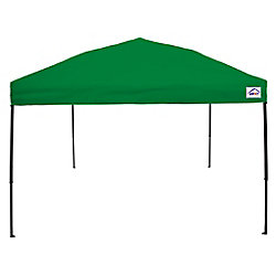 Impact Canopy 10 Feet x 10 Feet Recreational Grade Steel Sport Pop Up Canopy Kelly Green