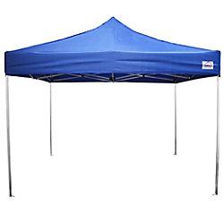Impact Canopy Aluminum Ultra Lite 10 Feet x 10 Feet Recreational Grade Instant Pop Up Canopy Blue