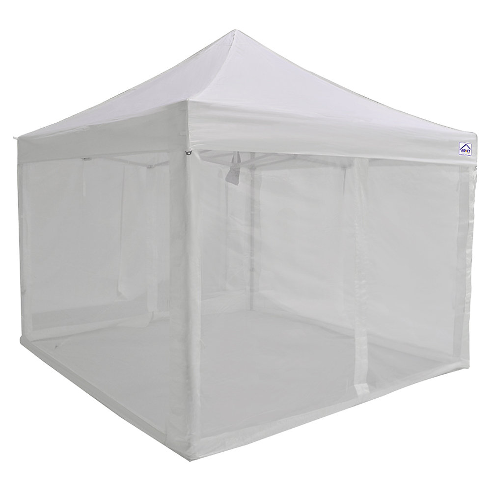 Bug Screen 4-Wall Kit for 10 ft  x 10 ft  Instant Canopy