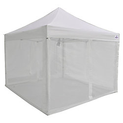 Impact Canopy Bug Screen 4-Wall Kit for 10 ft. x 10 ft. Instant Canopy