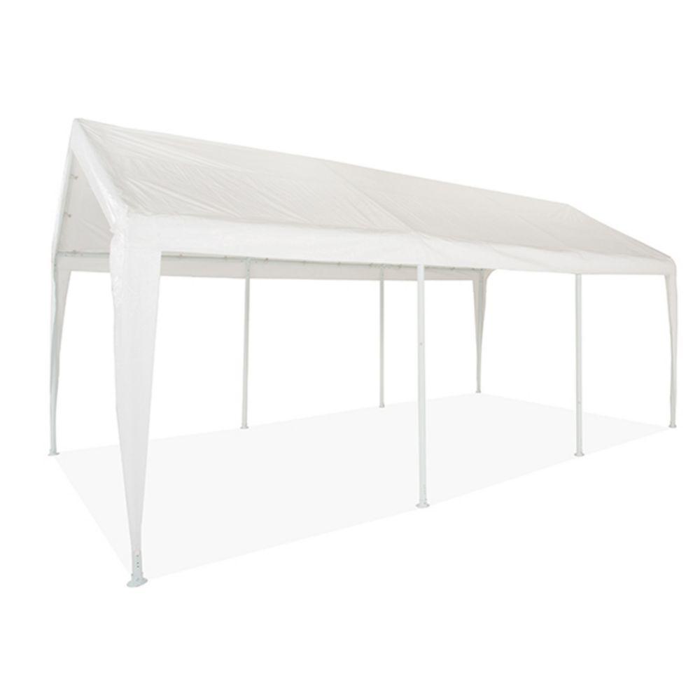 Impact Shelter 10 ft. x 20 ft. 8-Leg Carport or General Purpose Canopy