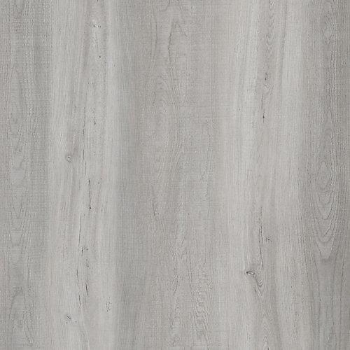 Latte pour plancher, vinyle de luxe, 7,5 po x 47,6po, Chêne gris clair, 19,8pi2/boîte