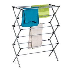 Honey-Can-Do 14.5-inch W x 45.5-inchH x 35.5-inch L Oversize Folding Drying Rack