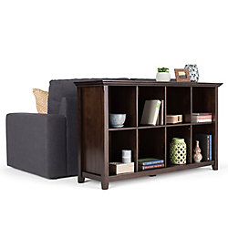 Simpli Home Acadian 8 Cube Storage / Sofa Table