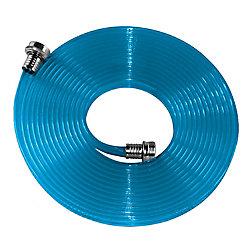 Flat Hose Camping / Marine / VR tuyau plat en polyuréthane 5/8 po x 25 pi Bleu