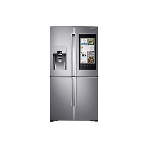 36-inch 22 cu.ft. Smart French Door Refrigerator with Family Hub in Stainless Steel - ENERGY STAR®