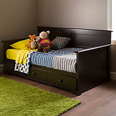 Summer Breeze Twin Daybed with Storage (39