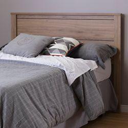 """South Shore Tête de lit double (54"""") Fynn, Chêne rustique"""