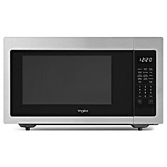 Whirlpool 1.6 cu ft, 21.75 in. Countertop Microwave, 1200 Watts