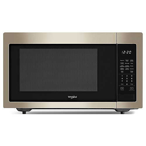 22-inch W 1.6 cu. ft. Countertop Microwave in Sunset Bronze