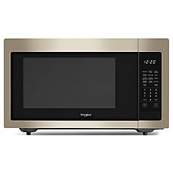 1.6 cu. ft. Countertop Microwave in Fingerprint Resistant Sunset Bronze
