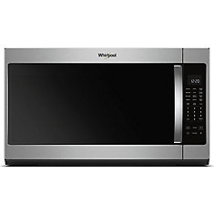 2.1 cu. ft. 30-inch Over-the-Range Microwave in Finger Print Resistant Stainless Steel